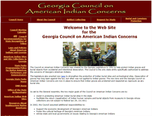 Tablet Preview of georgiaindiancouncil.org